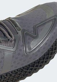 adidas Originals - ZX 4D - Sneakers basse - grey four core black solar orange - 9