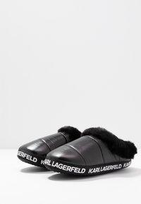 KARL LAGERFELD - ARKTIK - Pantuflas - black - 4