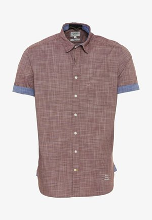 Shirt - berry red