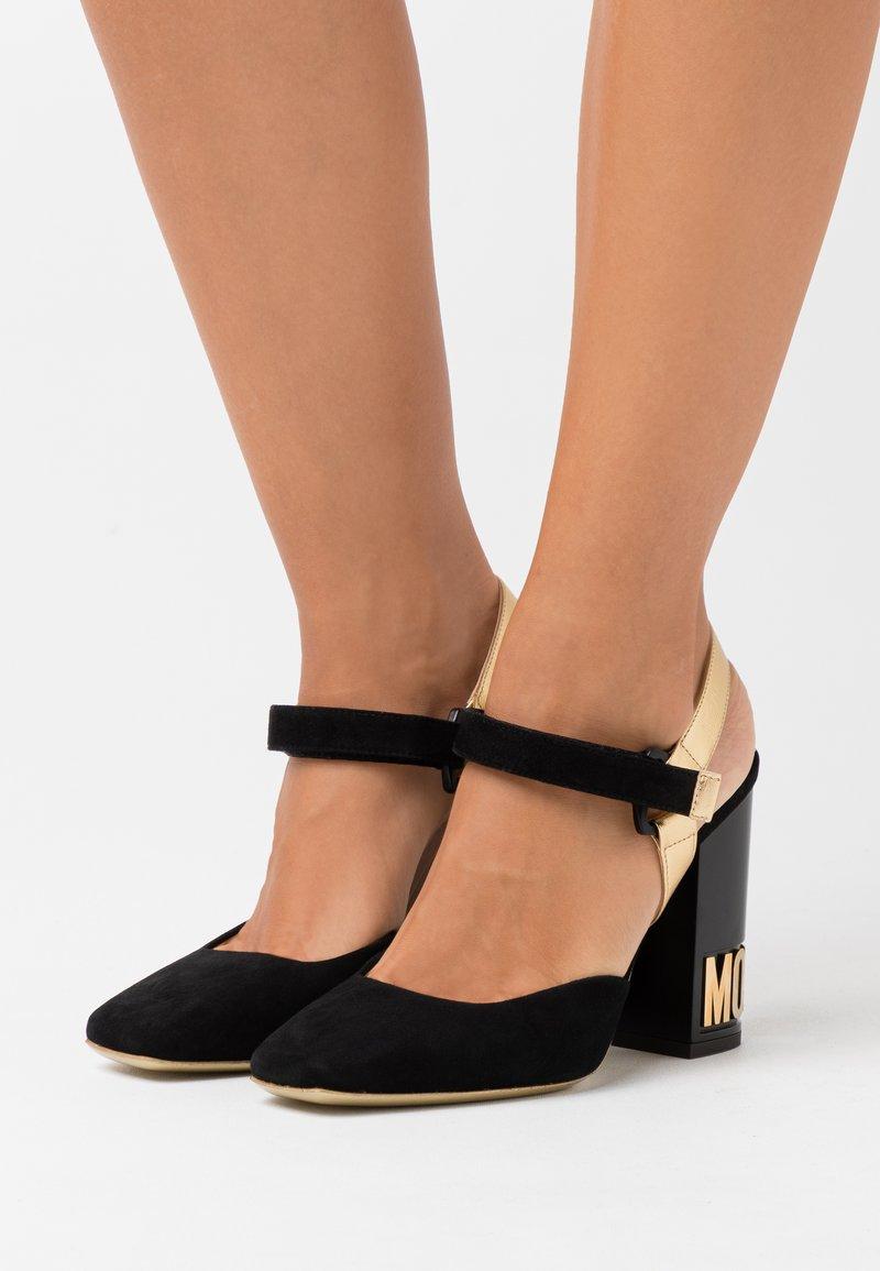 MOSCHINO - High heels - fantasy color