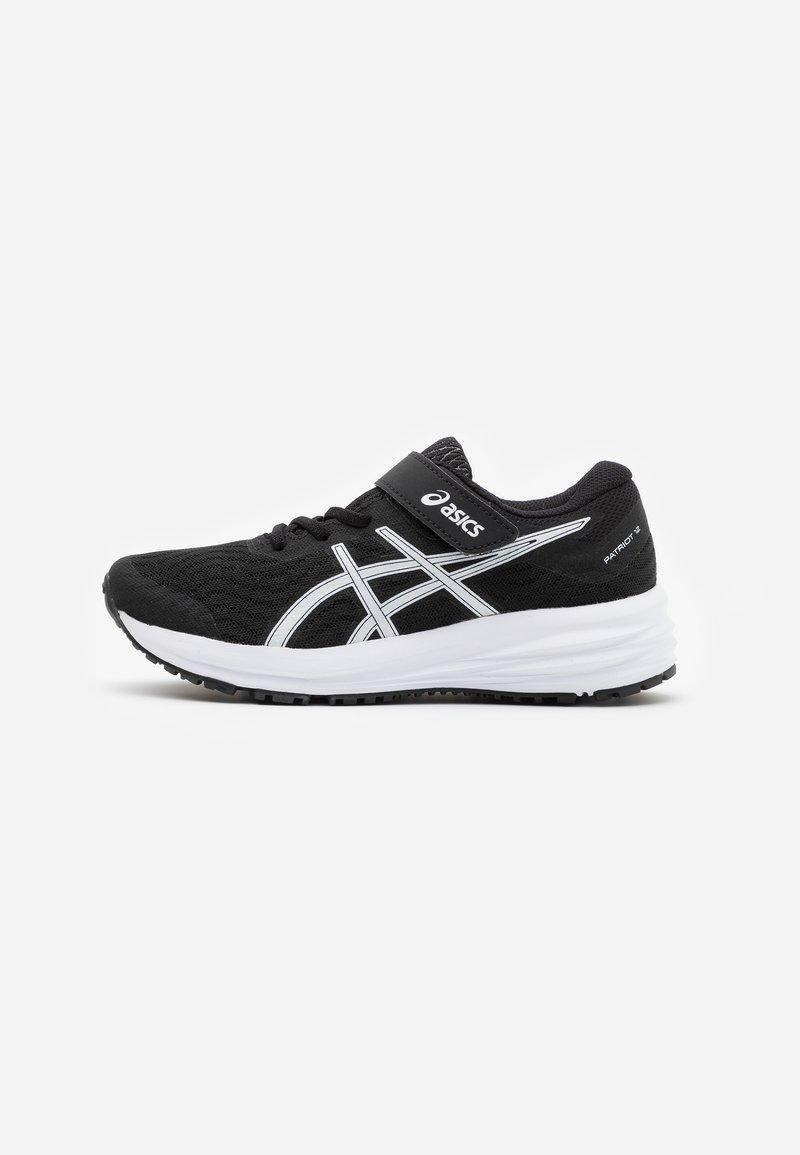 ASICS - PATRIOT 12 UNISEX - Neutral running shoes - black/white