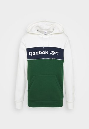 LINEAR HOODIE - Sweatshirt - chalk