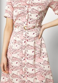 Fabienne Chapot - MILA DRESS - Shirt dress - white/pink - 3