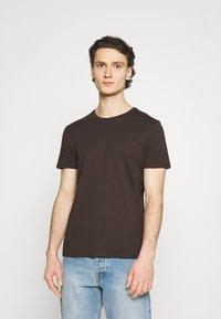 Burton Menswear London - 5 PACK - T-shirt - bas - khaki - 1