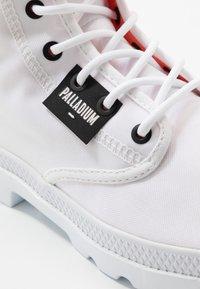 Palladium - PAMPA LITE OVERLAB - High-top trainers - white - 6