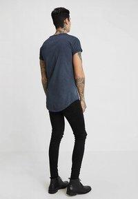 Tigha - MILO - T-shirt - bas - vintage navy blue - 2