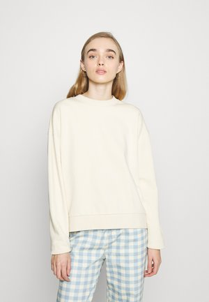 HUGE CROPPED - Sweatshirt - beige