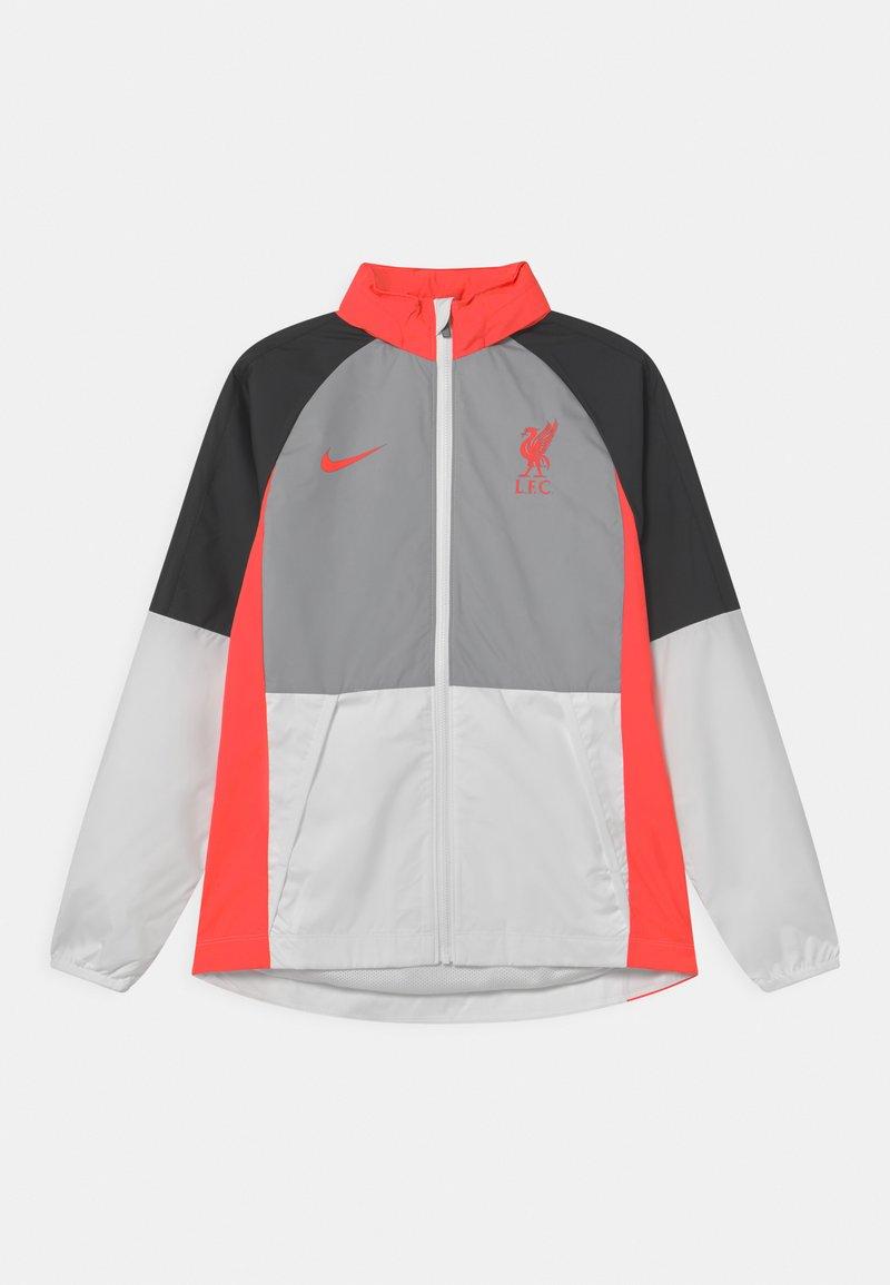 Nike Performance - LIVERPOOL FC UNISEX - Club wear - wolf grey/white/black/laser crimson
