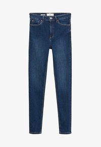 Mango - MIT HOHEM BUND NOA - Jeans Skinny Fit - dunkelblau - 5
