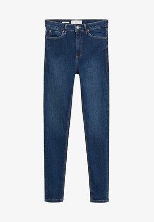 MIT HOHEM BUND NOA - Jeans Skinny Fit - dunkelblau