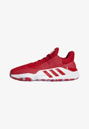PRO BOUNCE 2019 LOW SHOES - Basketball shoes - red