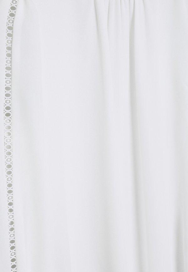 Forever New MEGAN TRIM SLEEVE BLOUSE - Bluzka - ivory/biały EHXQ