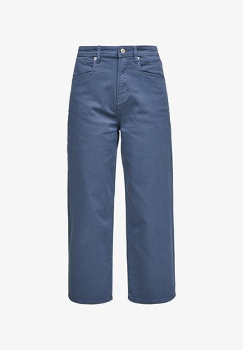 Trousers - faded blue