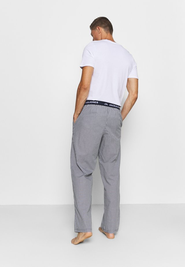 JACMIX PANTS - Pyjamabroek - black/blue