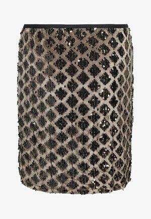 Pencil skirt - brownie
