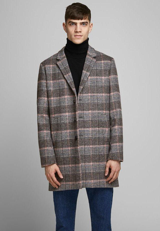 JPRBLAMOULDER CHECK - Classic coat - twilight mauve