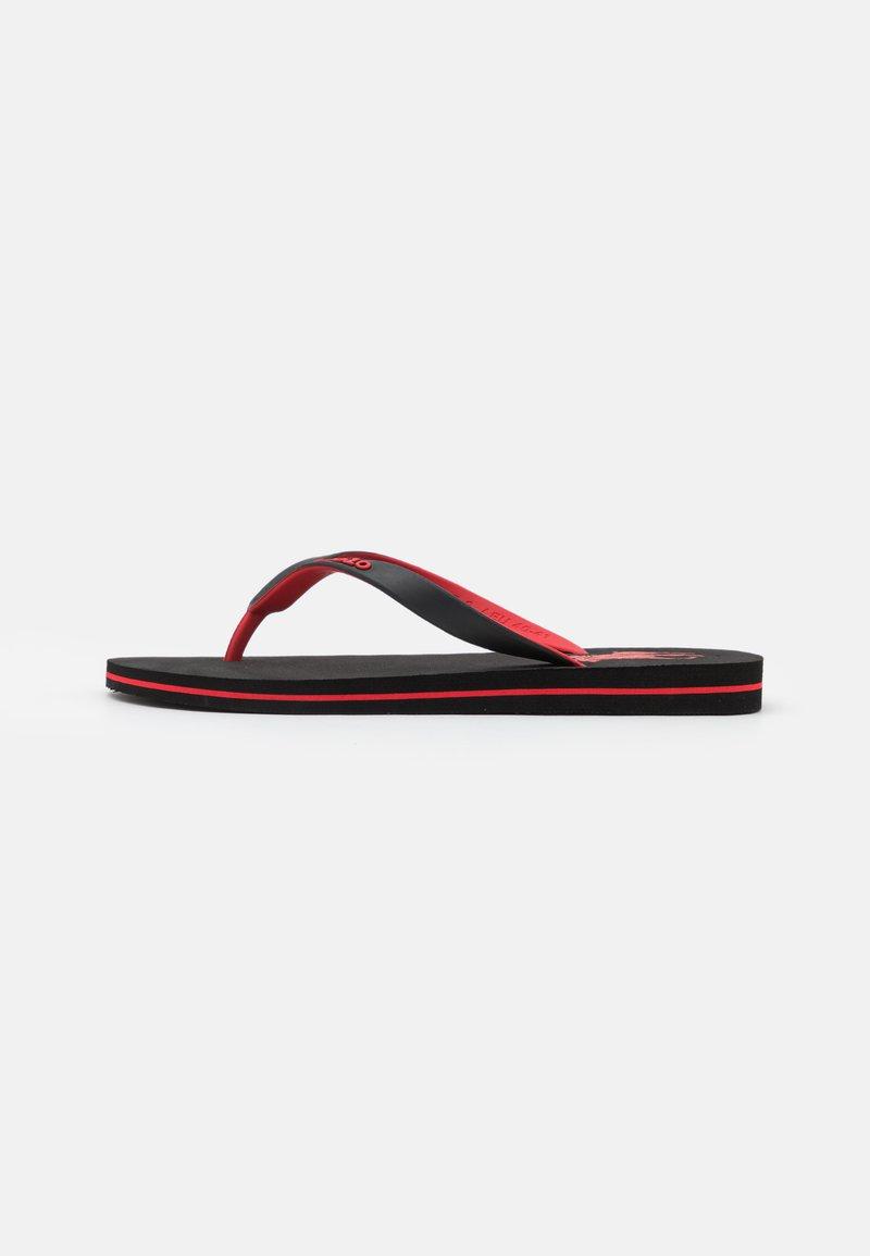 Polo Ralph Lauren - Sandály s odděleným palcem - black/red
