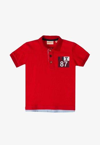 Poloshirt - red