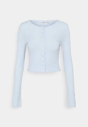 MINERVA LONG SLEEVE - Chaqueta de punto - light blue