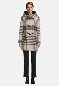 Gil Bret - Winter coat - camel/black - 1