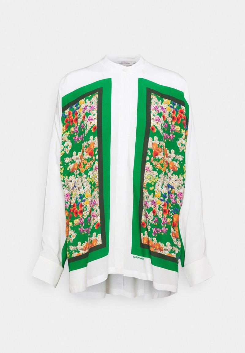 Carin Wester - CYNTHIA - Blouse - green/white/multi-coloured