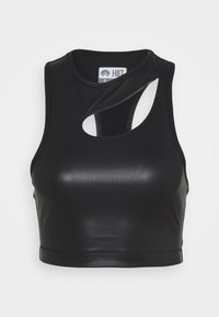 HIIT - LUXE FINISH TANK - Topper - black - 0