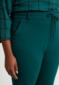 ONLY Carmakoma - CARGOLDTRASH CLASSIC - Spodnie materiałowe - forest biome - 4