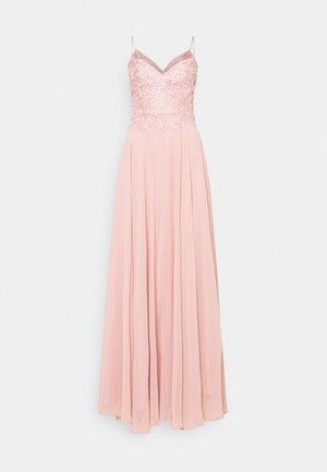 Společenské šaty - dusty rose
