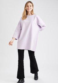 DeFacto - Sweatshirt - purple - 1