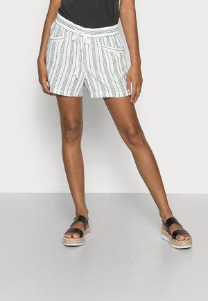 PULL ON SHORT - Shorts - black white