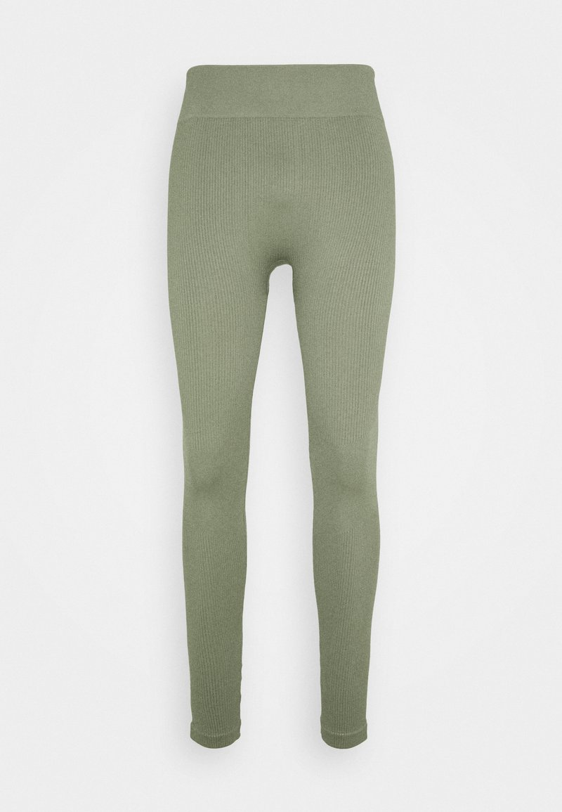 South Beach - SEAMLESS HIGH WAIST LEGGING - Trikoot - light green