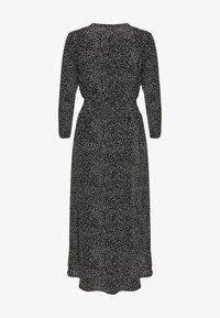 maje - ROSILA - Maxi dress - noir/blanc - 1