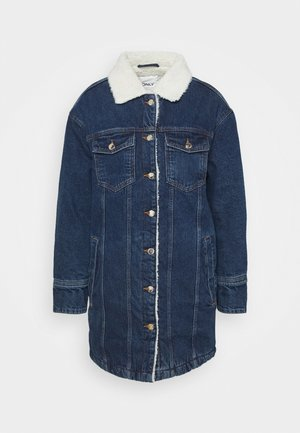 ONLWHITNEY  LIFE  JACKE - Classic coat - dark blue denim