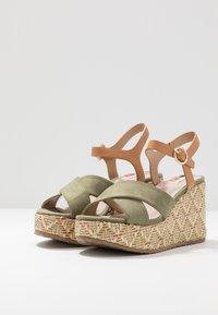 mtng - Sandály na vysokém podpatku - sandys natural/verde claro - 4