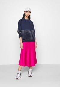 Fila - HELAINE CREW NECK  - Sweatshirt - black iris - 1