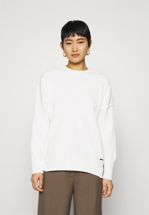 MOCK - Sweter - cream