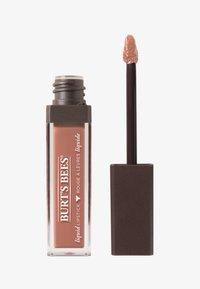 Burt's Bees - LIQUID LIP STICK - Vloeibare lippenstift - niagara nude - 0