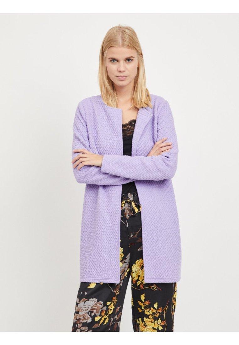 Vila - VINAJA NEW LONG JACKET - Summer jacket - lilac