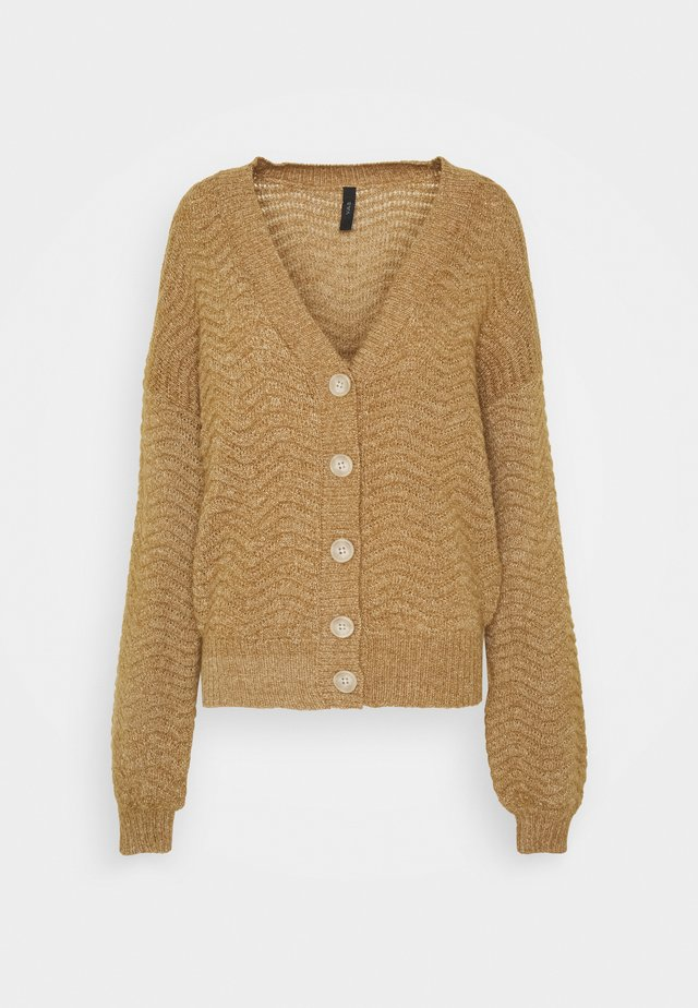 YASBETRICIA CARDIGAN - Gilet - rubber