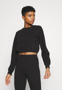 Nly by Nelly - MY FLARE SET - Sweatshirt - black - 3
