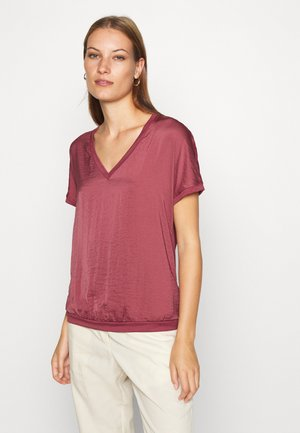 VINNIE - Blouse - dark dusty red