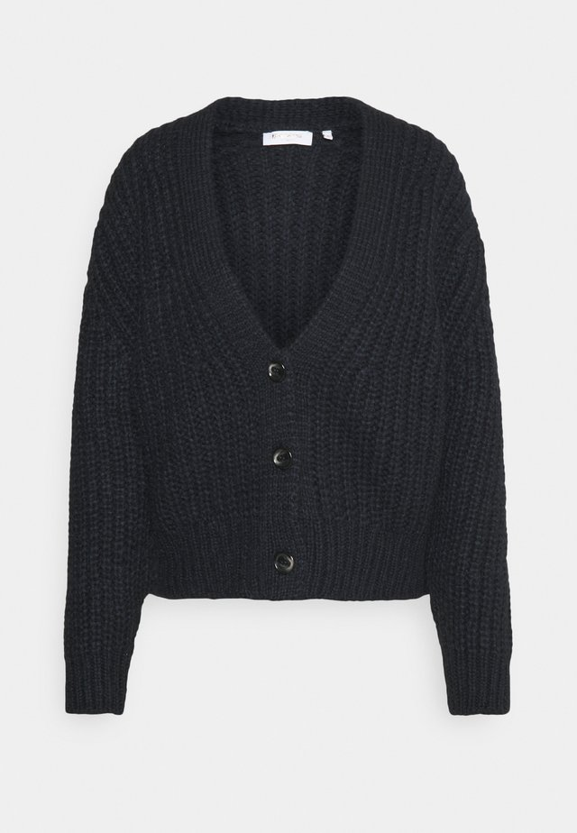 Cardigan - deep blue
