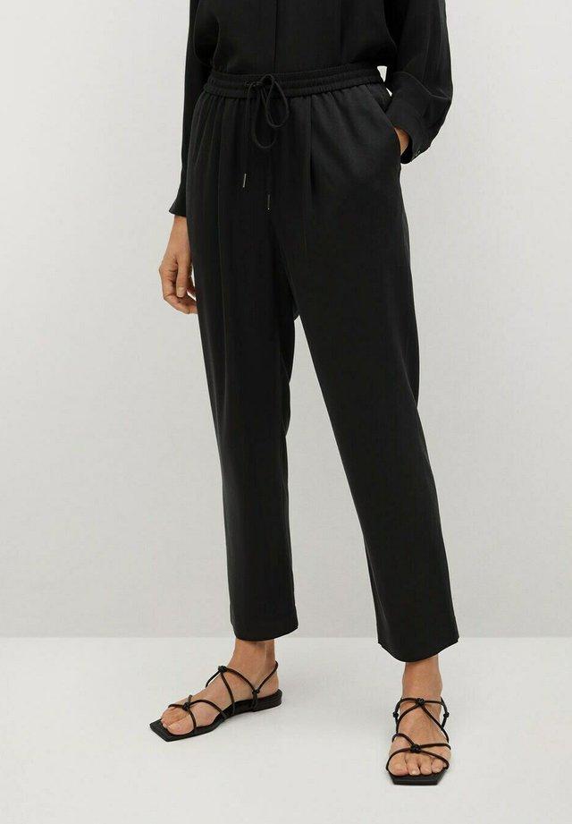 FLUIDO - Pantalon de survêtement - black