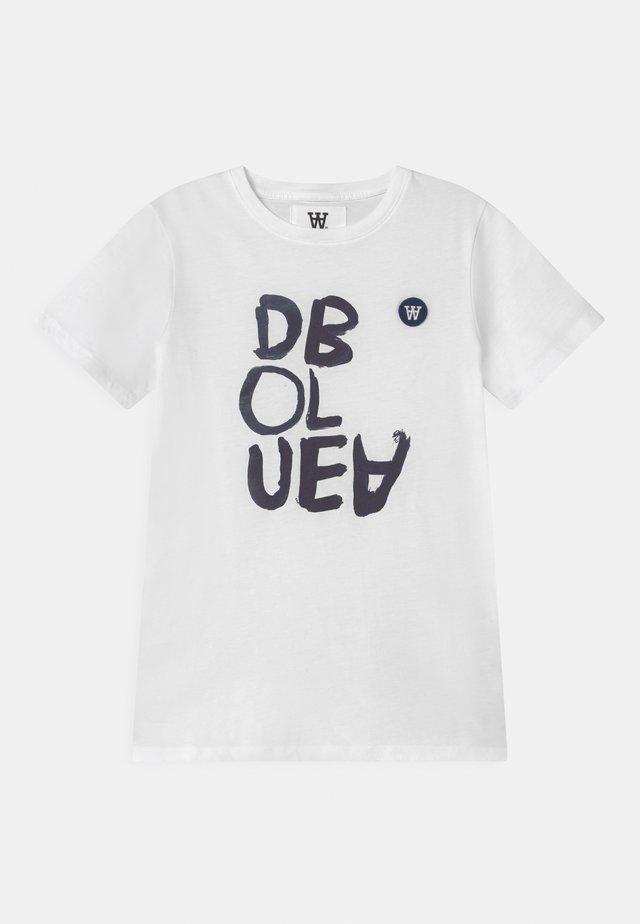 OLA UNISEX - T-shirt print - bright white