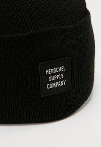 Herschel - ABBOTT BEANIE - Czapka - black - 5