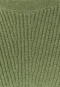TOM TAILOR - CREWNECK  - Jumper - calm green melange - 2