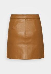 ONLY - ONLNAYA SKIRT - Mini skirt - toasted coconut - 1