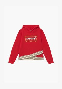 Levi's® - CROSS OVER HOODIE - Kapuzenpullover - super red - 0