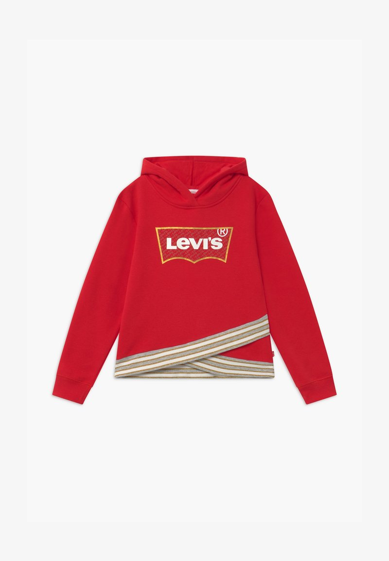 Levi's® - CROSS OVER HOODIE - Kapuzenpullover - super red