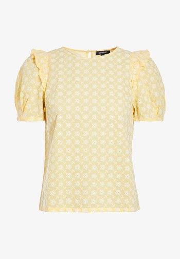 Blusa - jaune clair